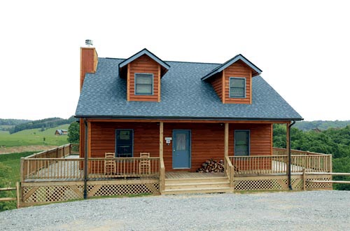 Cape Cod House Plan 67604 with 3 Beds, 2 Baths Elevation