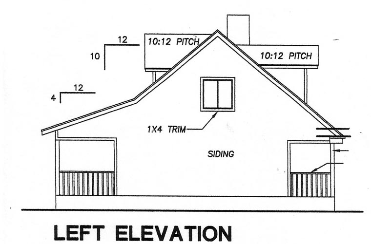 Cape Cod House Plan 67604 with 3 Beds, 2 Baths Picture 1