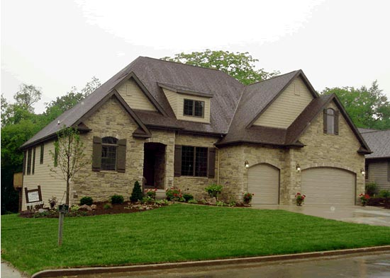 French Country House Plan 68145 with 4 Beds, 4 Baths, 3 Car Garage Elevation