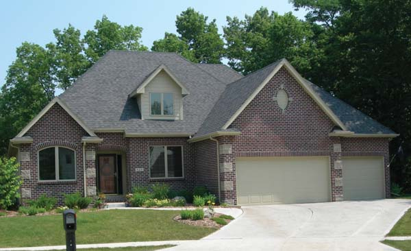 European, Traditional House Plan 68236 with 3 Beds, 3 Baths, 2 Car Garage Picture 1