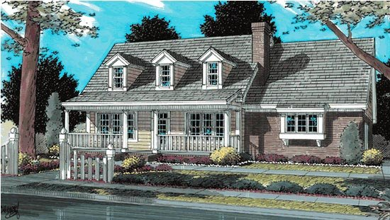 Country, Southern House Plan 68475 with 3 Beds, 3 Baths, 2 Car Garage Front Elevation