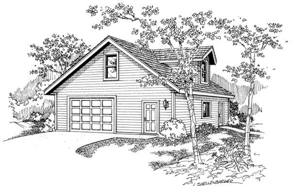 Garage Plan 69766