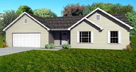 Plan Number 70196 - 1440 Square Feet
