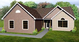 Plan Number 70199 - 1480 Square Feet