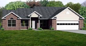 Plan Number 70300 - 2078 Square Feet