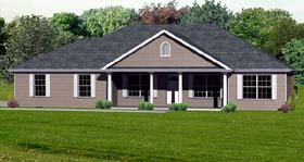 Plan Number 70302 - 1714 Square Feet