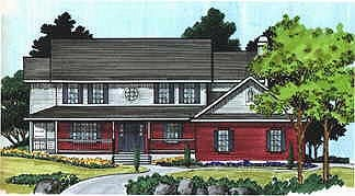 Country House Plan 70432 with 5 Beds, 3 Baths, 2 Car Garage Elevation
