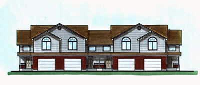European Multi-Family Plan 70455 with 12 Beds, 10 Baths, 4 Car Garage Elevation