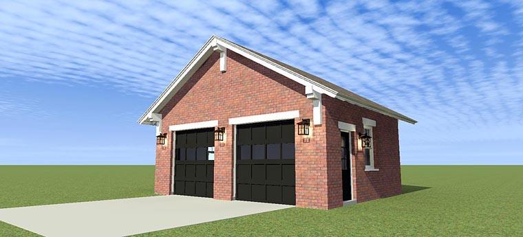 Garage Plan 70812
