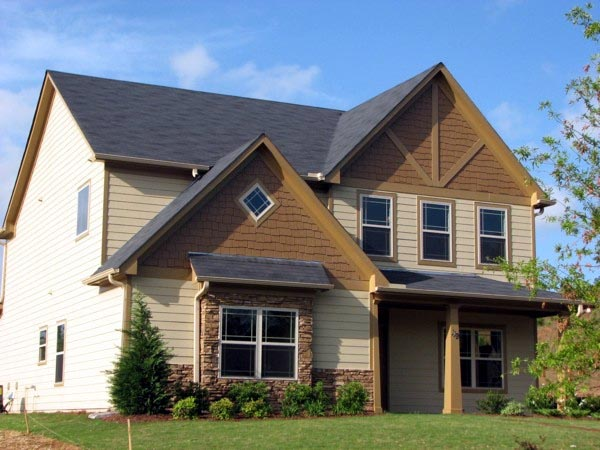 Traditional House Plan 71321 with 4 Beds, 3 Baths, 2 Car Garage Elevation