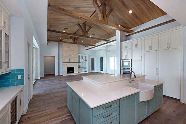 Coastal, Contemporary, Florida House Plan 71544 with 3 Beds, 5 Baths, 2 Car Garage Picture 2