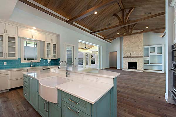Coastal, Contemporary, Florida House Plan 71544 with 3 Beds, 5 Baths, 2 Car Garage Picture 3