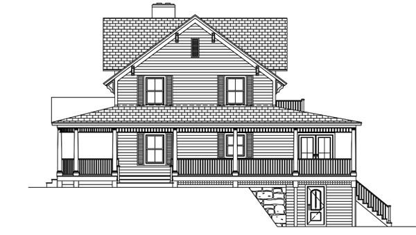 House Plan 71903 with 3 Beds, 5 Baths Picture 2