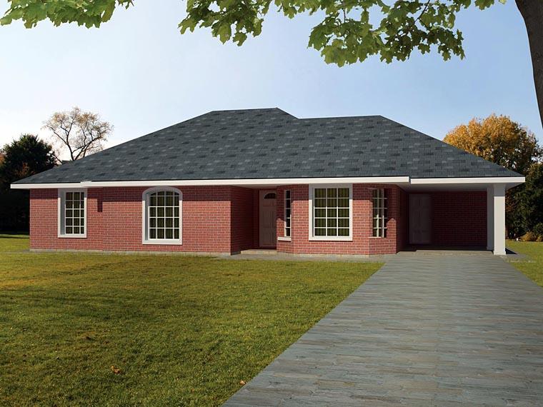 House Plan 71932