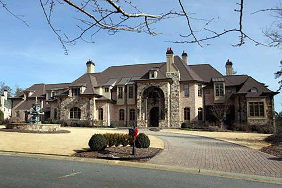 European, Greek Revival House Plan 72126 with 7 Beds, 9 Baths, 5 Car Garage Picture 4