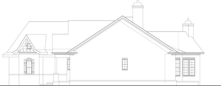 Ranch House Plan 72168 with 3 Beds, 3 Baths, 2 Car Garage Picture 3