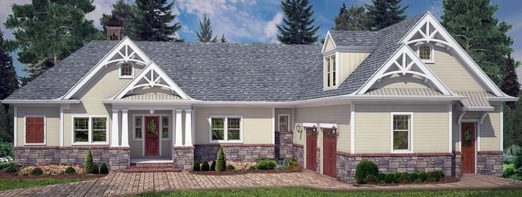 House Plan 72220