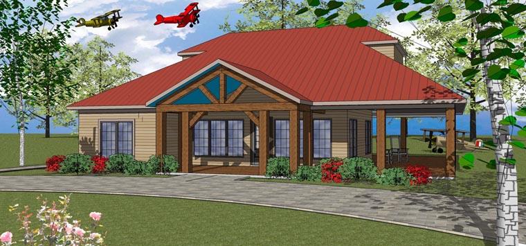 House Plan 72370