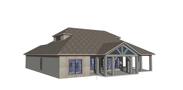 Coastal, Southern House Plan 72370 with 3 Beds, 3 Baths Picture 1