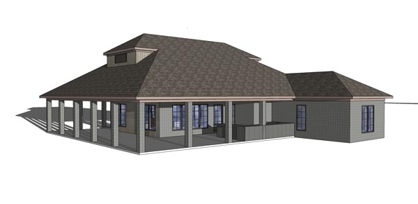 Coastal, Southern House Plan 72370 with 3 Beds, 3 Baths Picture 4
