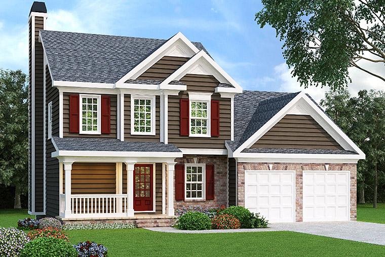 House Plan 72540