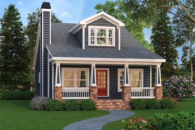 Bungalow, Cottage, Country, Craftsman, Southern House Plan 72660 with 4 Beds, 3 Baths Elevation