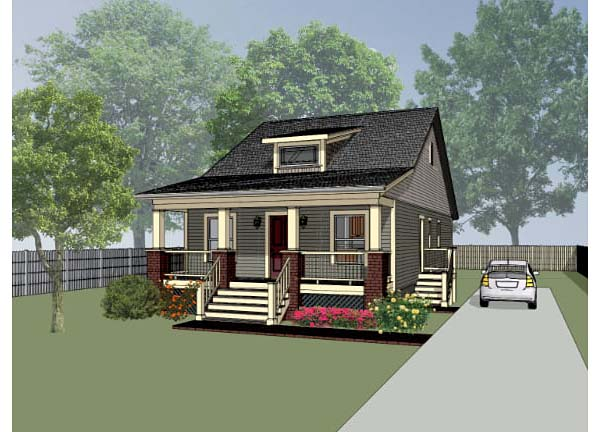 House Plan 72709