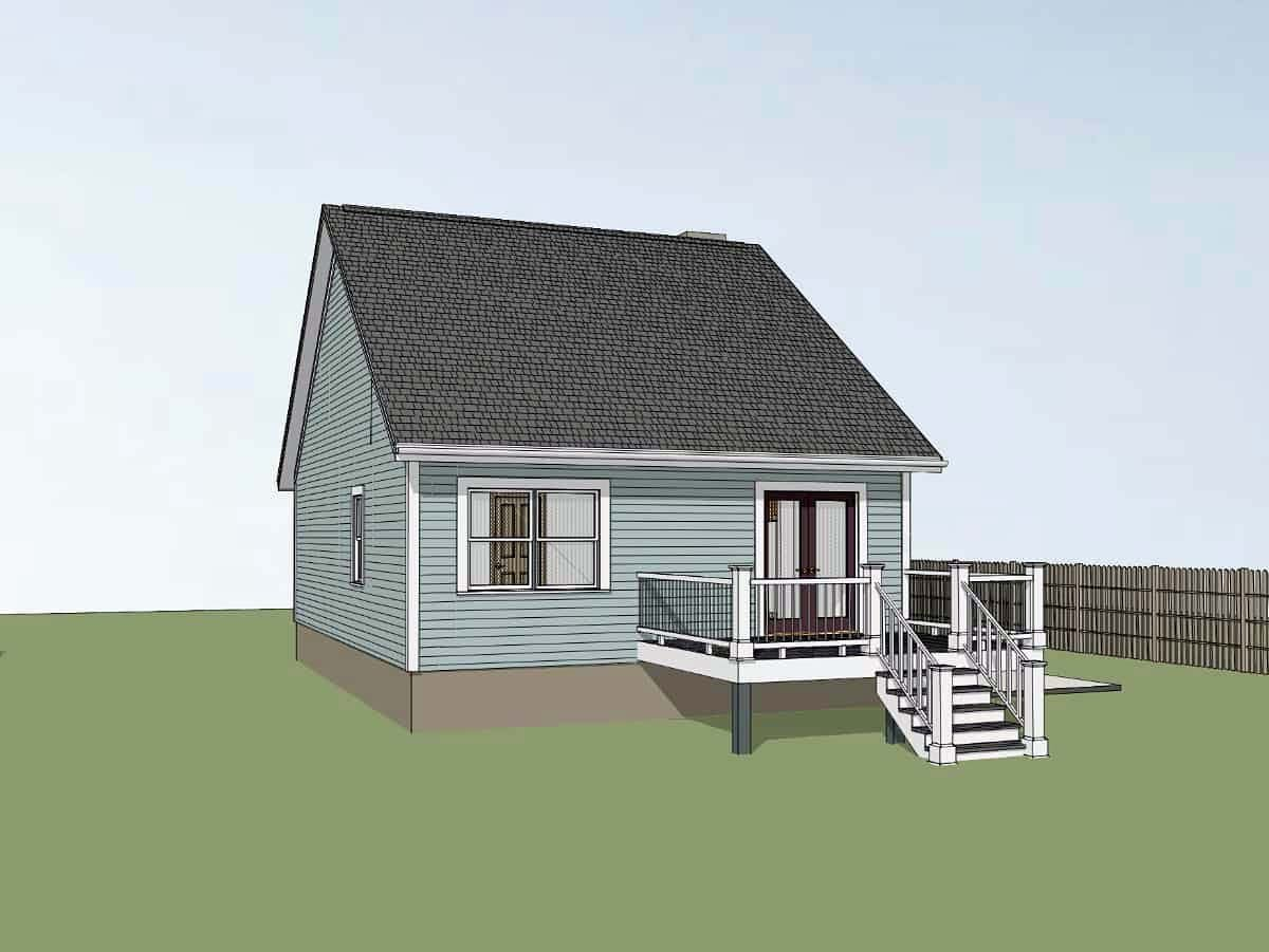 Bungalow House Plan 72718 with 3 Beds, 2 Baths Picture 1