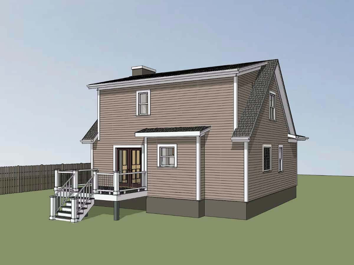 Bungalow House Plan 72722 with 3 Beds, 3 Baths Picture 2