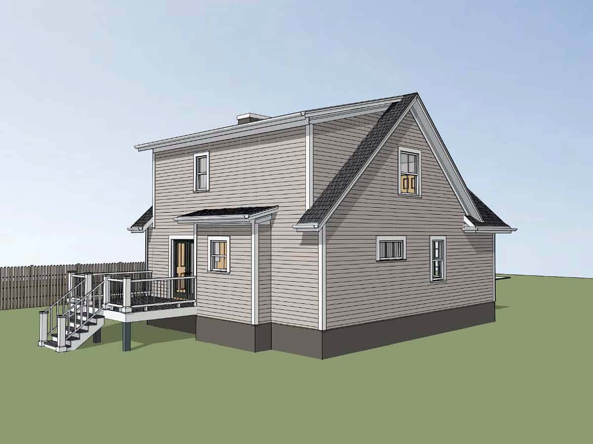 Bungalow House Plan 72724 with 3 Beds, 3 Baths Picture 2