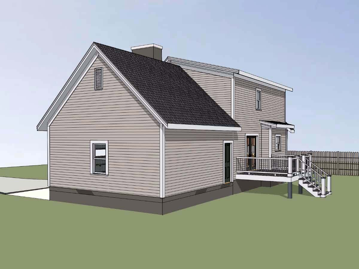 Bungalow House Plan 72726 with 3 Beds, 3 Baths, 2 Car Garage Picture 1