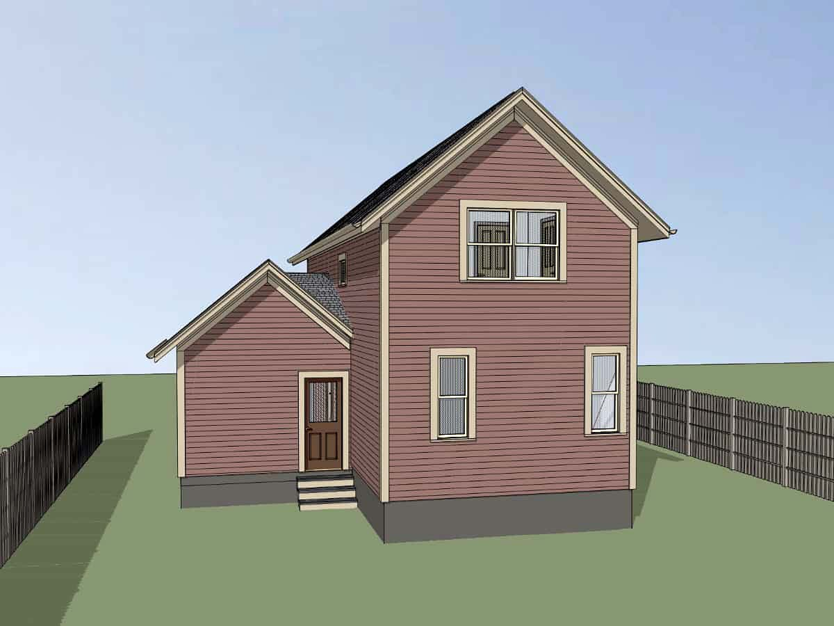 Bungalow House Plan 72729 with 3 Beds, 2 Baths, 1 Car Garage Picture 1