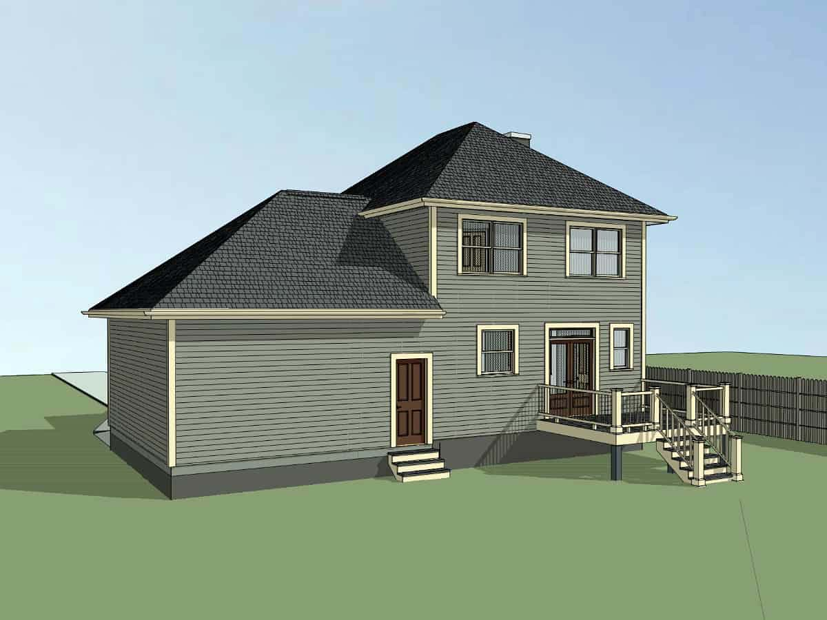 Bungalow House Plan 72730 with 3 Beds, 3 Baths, 2 Car Garage Picture 1