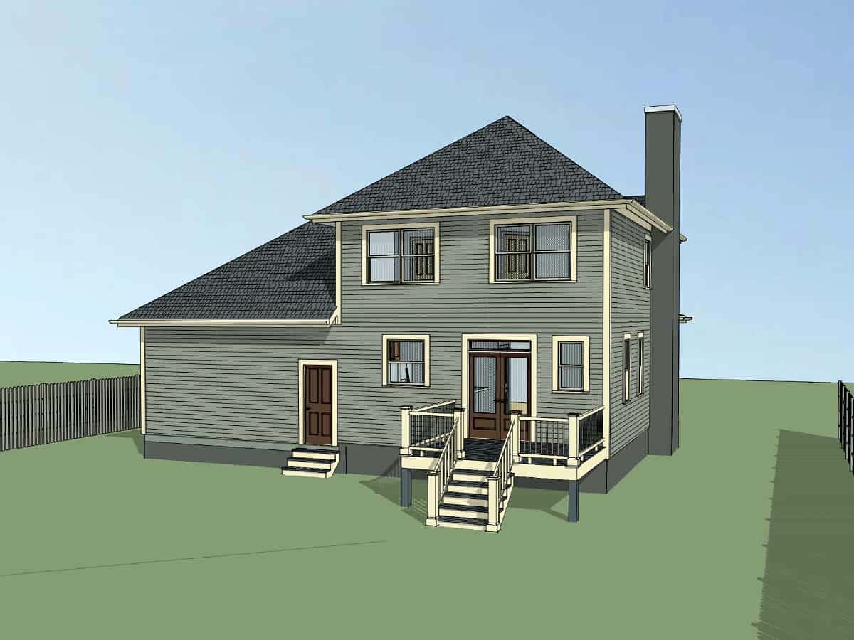 Bungalow House Plan 72730 with 3 Beds, 3 Baths, 2 Car Garage Picture 2