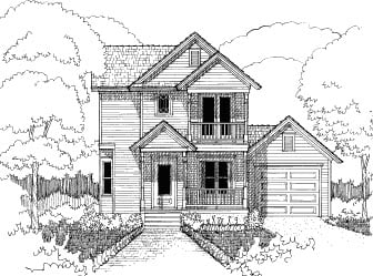 Bungalow House Plan 72740 with 3 Beds, 3 Baths, 1 Car Garage Elevation