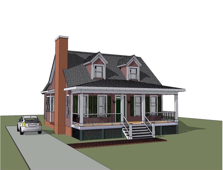House Plan 72750
