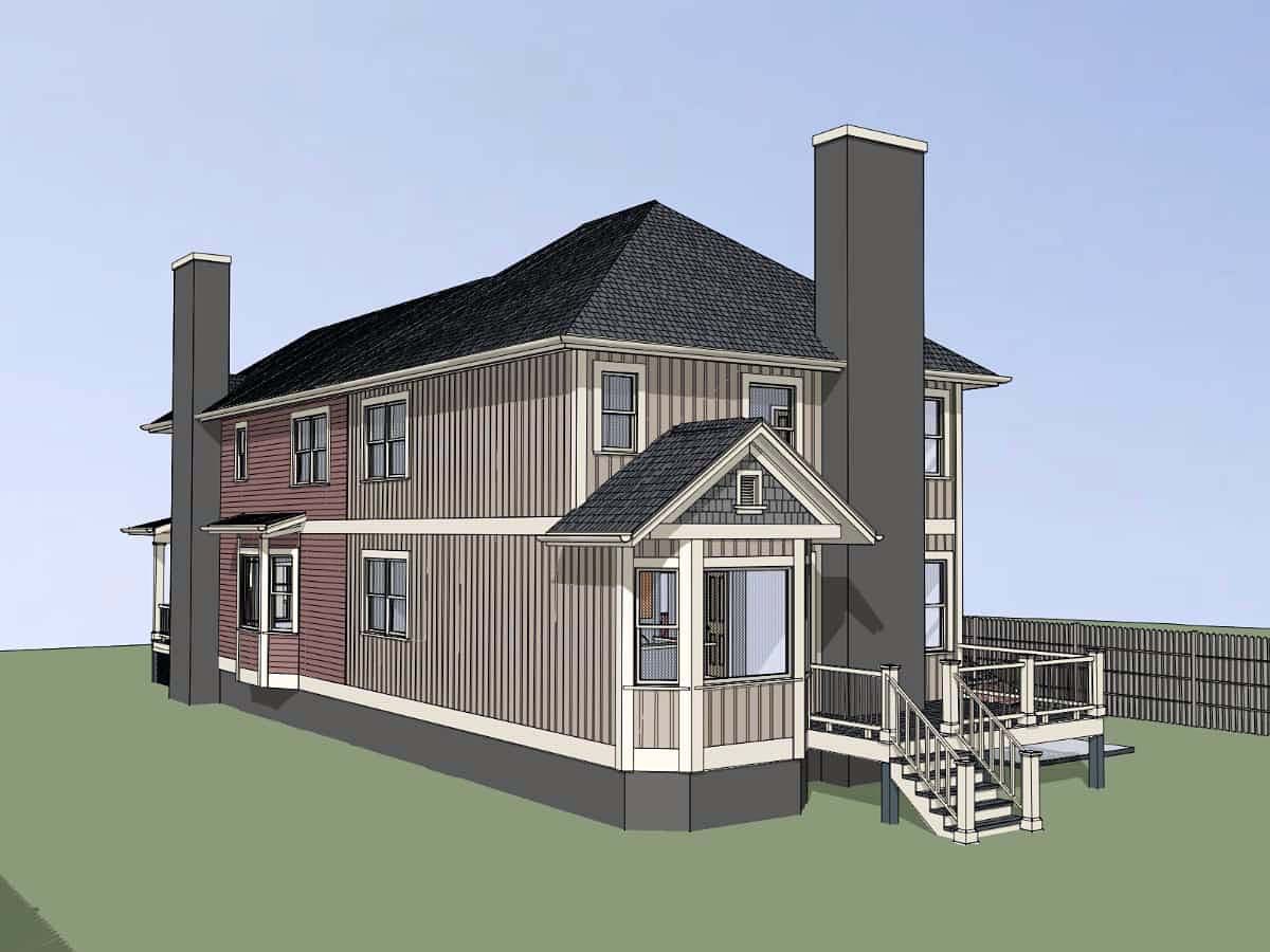 Multi-Family Plan 72792 with 5 Beds, 5 Baths Picture 1