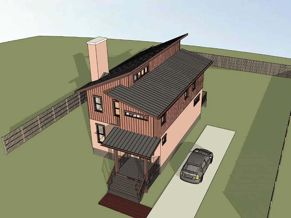 Contemporary House Plan 72796 with 3 Beds, 3 Baths Picture 3