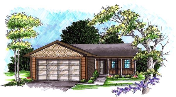 House Plan 72971