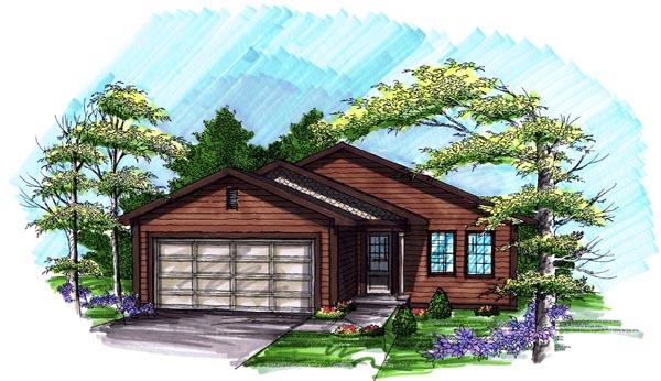 House Plan 72973