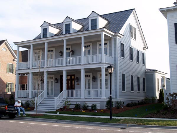 Historic, Narrow Lot House Plan 73702 with 5 Beds, 5 Baths Front Elevation