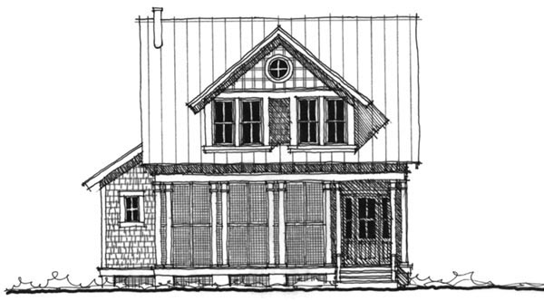 Historic, Southern House Plan 73715 with 4 Beds, 4 Baths Elevation