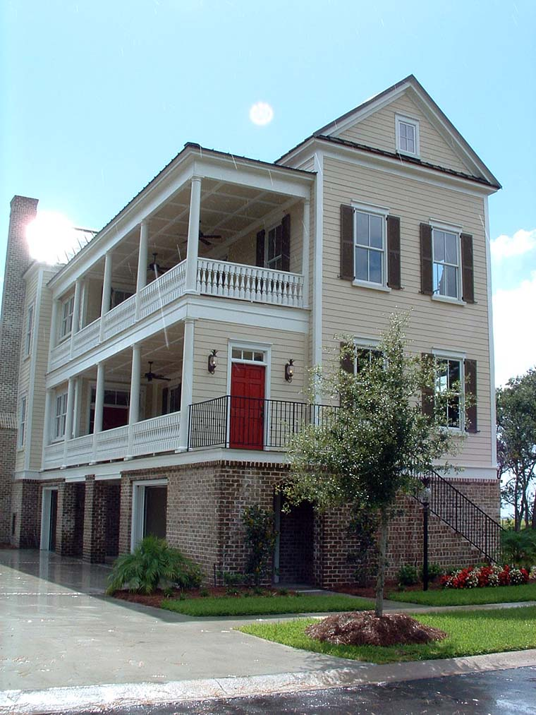 Historic, Southern House Plan 73725 with 4 Beds, 4 Baths Elevation