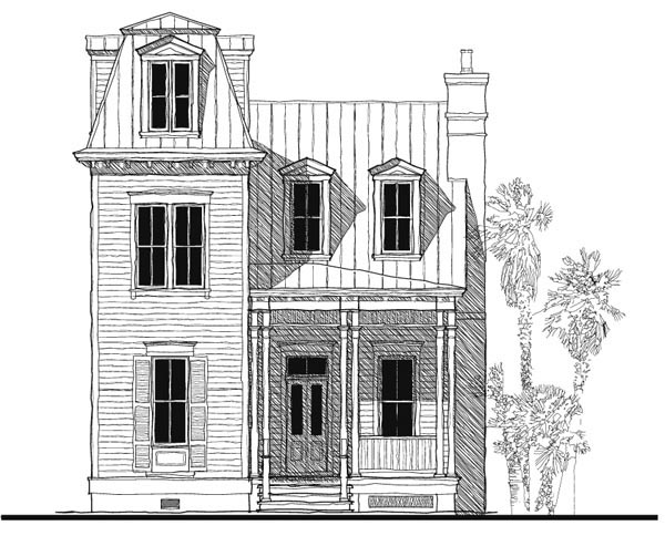 Historic, Italian, Victorian House Plan 73730 with 3 Beds, 3 Baths Elevation