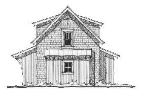 Historic 2 Car Garage Apartment Plan 73766 with 1 Beds, 1 Baths Picture 1