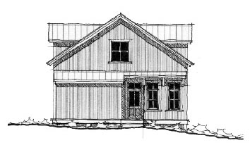 Historic House Plan 73819 with 2 Beds, 2 Baths Picture 1