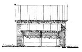 Historic 2 Car Garage Plan 73824 Picture 1