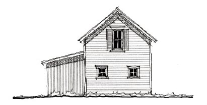 Historic 2 Car Garage Plan 73825 Elevation