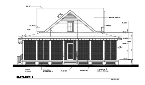 Country, Historic House Plan 73859 with 3 Beds, 4 Baths Rear Elevation