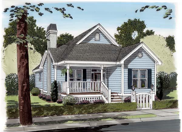 House Plan 74002
